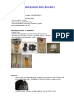 Tutorial Cara Menggunakan Kompor Briket
