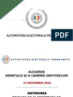 Instruirea Primarilor Si Secretarilor Alegeri Parlamentare 2016