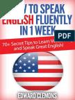 How to Speak English Fluently in 1 Week.pdf