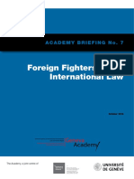 Foreign Fighters Under International Law Briefing No7