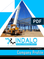 company profile - indalo rigging  pty  ltd