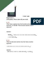 COSC 3430 Homework 1 Solutions (1) (1)
