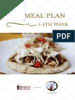 Veg meal plan 1