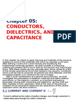 5 Conductors Dielectrics Capacitance