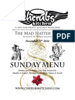 11122016 Sunday Menu - Hatter