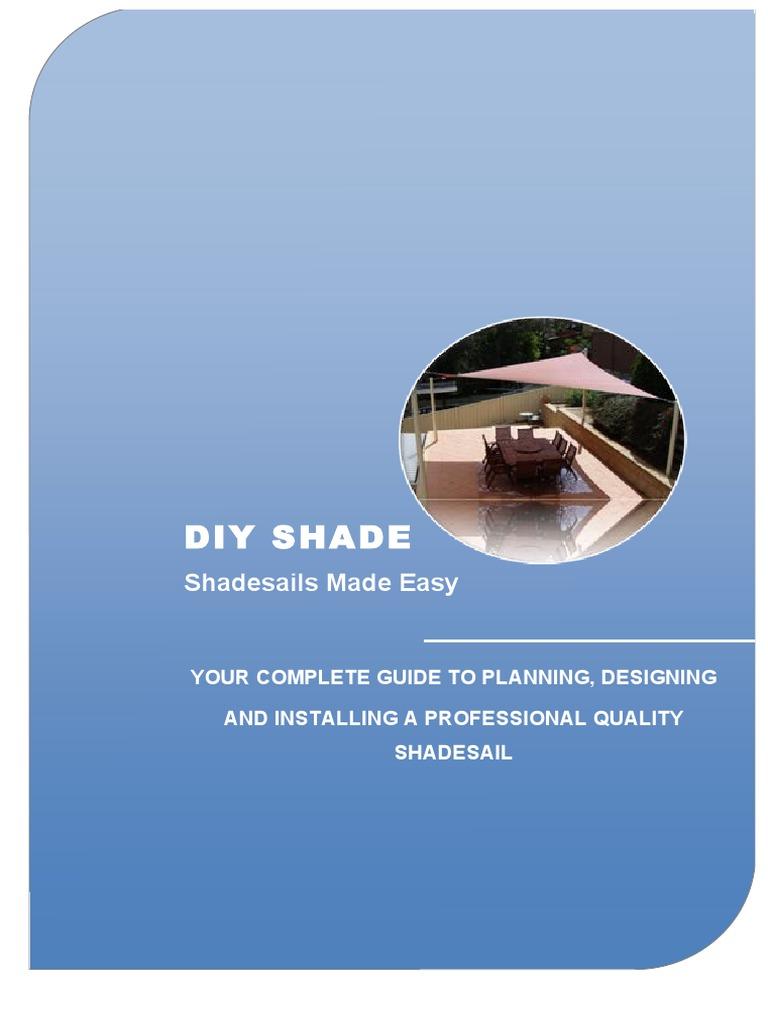 DIY_SHADE_E-Book.pdf | Textiles | Ultraviolet