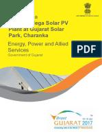 150 MW Mega Solar PV Plant at Gujarat Solar Park Charanka