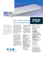 Eaton CLEARGAF Filter Bags TechnicalDataSheet US LowRes