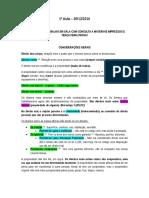 Direito Das Coisas II Mariana Amaral