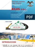 Exposicion Akiles Srl