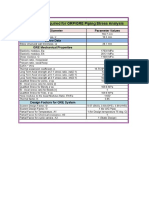 GRE Pipe Stress Input