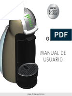 Manual Usuario Dolce Gusto Genio 2