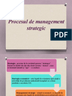 Procesul de Management Startegic