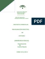Proyecto Curricular Enseñanzas Básica 2013 2014 Herrera