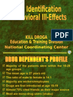 Drug Identification and Behavioral Ill-Effects.ppt