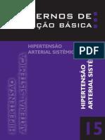 Cadernos de Atenção Básica-hipertensão