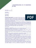 Indicaciones y contraindicaciones en el tratamiento psicoanalítico de niños.docx
