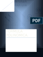 Formula Polinomica - Monografia.