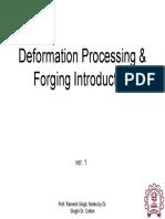 Forming 1 Forging