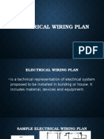 Electrical Wiring Plan