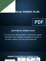 Electrical Wiring Plan