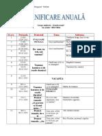 Planificare Anuala Editura Diana 45ani
