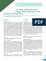 Elaboración de un video interactivo como objeto de aprendizaje