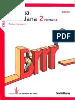 Cuaderno Lengua Castellana 2