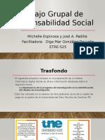 trabajo grupal de  responsabilidad social ppt final