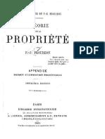 Proudhon-Theorie de La Propriete