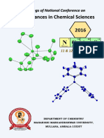 proceedings of national conference in recent advances in chemical sciences