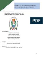 Modelo Diseño de Producto Turismo Rural PARROQUIA PPG