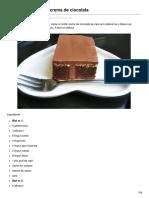 Retetemerisor.ro-prajitura Cu Visine Si Crema de Ciocolata