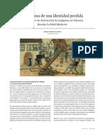 Borja Franco- En Defensad de Una Identidad Perdida. Los Procesos de Destrucción de Imágenes en Valencia Durante La Edad Media
