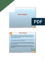 4.- Data Integrity