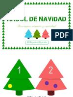 Árbol de Navidad - Números