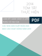 2014 Progress Report Executive Summary VIETNAMESE