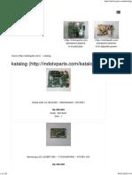 Katalog - Indo Tv Parts - Indo Tv Parts