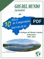 10 Años Compromiso Con Honduras 2014