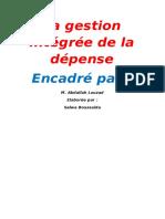 CONTEXTE DU PROJET GID Dans Le Cadre Des Grandes Réformes de Modernisation Et de (1)