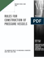 Mecânica Dos Sólidos II - Vasos de Pressão Norma Asme Viii Div.1 (Completa)
