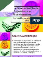 Sistemas de Amortizacao de Emprestimos e Financiamentos