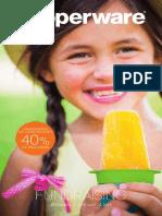 Spring 2017 Tupperware Fundraiser Brochure Canada