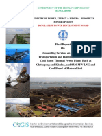 Coal Sourcing Handling and Transportation Report_Volume_V