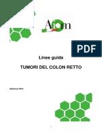 Onco - Linee Guida K.colon Retto 2015