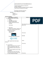 A Detailed Lesson Plan in Mathematics II