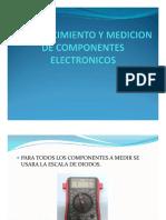 Medicion de Componentes Electronicos