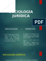 SOCIOLOGÍA JURÍDICA