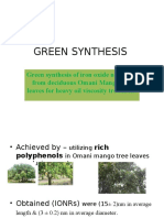 Green Synthesis