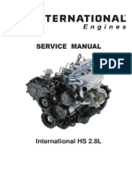 International HS 2.8L Workshop Manual ARO